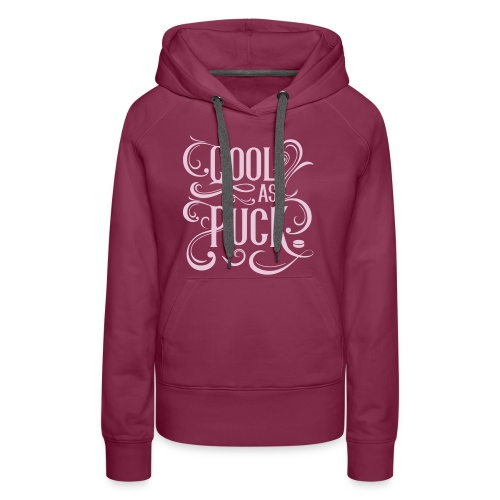 Cool As Puck Women's Hoodie - Women's Premium Hoodie