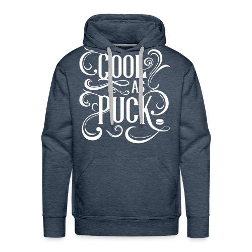 Cool As Puck Men's Hoodie - Men's Premium Hoodie