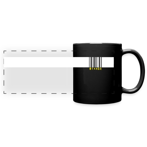 Barcode Mug (Black) - Full Color Panoramic Mug