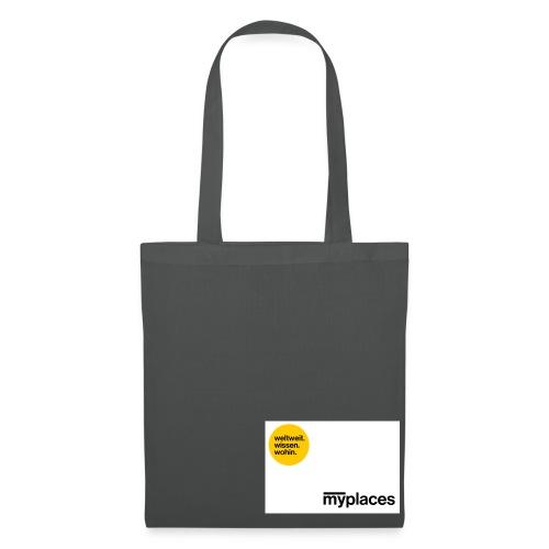 NEU: myplaces Tote Bag - Stoffbeutel