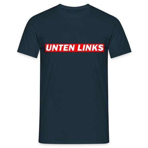 Unten Links Shirt - Männer T-Shirt