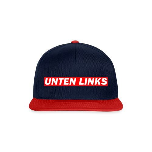Unten Links Cap - Snapback Cap