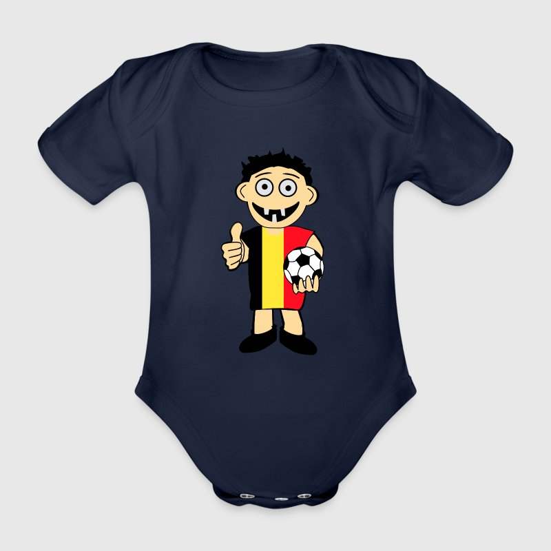 belgischer junge baby body spreadshirt. Black Bedroom Furniture Sets. Home Design Ideas