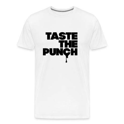 Original TTP Tee - 2017 Premium Tee In White With Black Print - Men's Premium T-Shirt