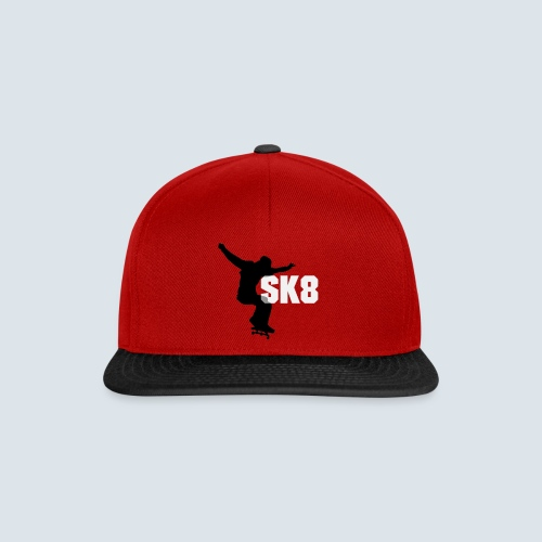 sk8 Skaterlive Cap - Snapback Cap