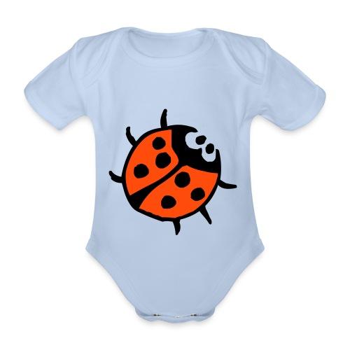 nykelpigan - Ekologisk kortärmad babybody