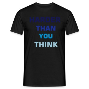 blck&blue htytt - Men's T-Shirt