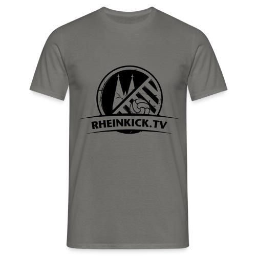 RHEINKICK.TV T-Shirt / grau   - Männer T-Shirt