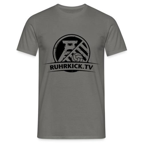 RUHRKICK.TV T-Shirt / grau - Männer T-Shirt