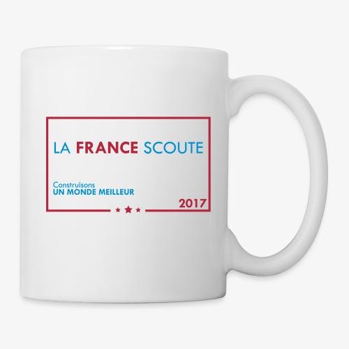 Mug La france scoute  - Mug blanc