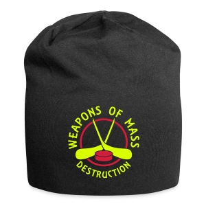 Hockey Weapons of Mass Destruction Relaxed Beanie Hat - Jersey Beanie