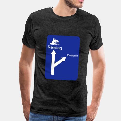 Wegweiser Reining - Männer Premium T-Shirt