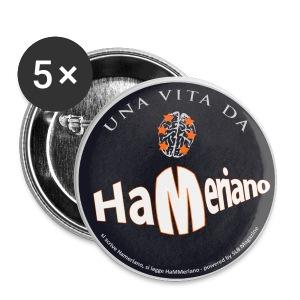 Ufficialmente HaMeriano - Spilla piccola 25 mm