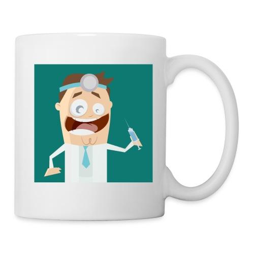 Tasse Verrückter Arzt - Tasse