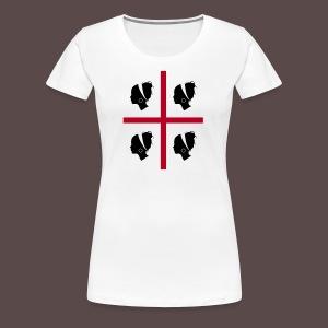 Sardegna, 4 more - Maglietta Premium da donna