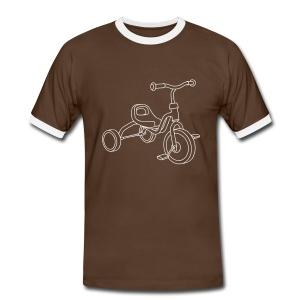 Kinderdreirad - Männer Kontrast-T-Shirt