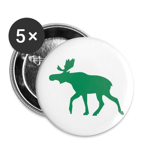 En älg - Små knappar 25 mm