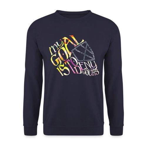 My Goal Hockey Goalie Men's Sweatshirt - Men's Sweatshirt