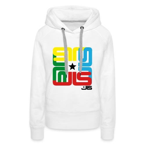 JLS 4 logo hoodie - Women's Premium Hoodie