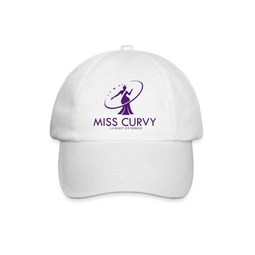 Casquette blanche - Miss Curvy - Casquette classique