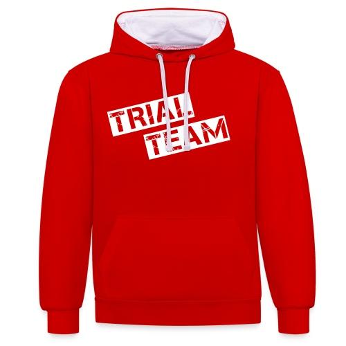 MSC Hoodie Trial Team - Kontrast-Hoodie