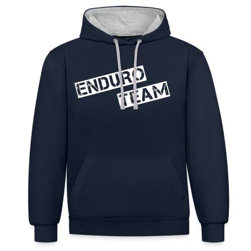 MSC Hoodie Enduro Team - Kontrast-Hoodie