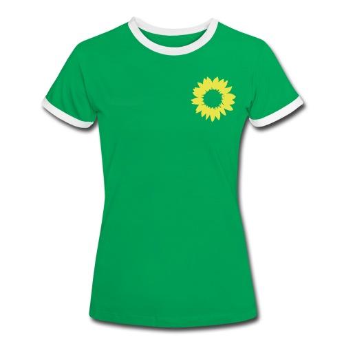 T-Shirt Frauen Kontrast - Frauen Kontrast-T-Shirt