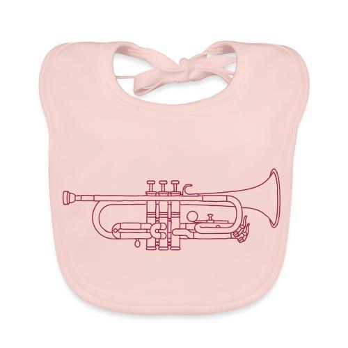 Trompete Blechblasinstrument - Baby Bio-Lätzchen