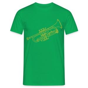Trompete Blechblasinstrument - Männer T-Shirt