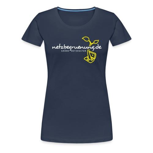 Netzbegrünungs-Shirt Spreadshirt Frauen - Frauen Premium T-Shirt