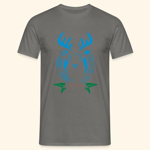 Männer Shirt Hirschemblem - Männer T-Shirt