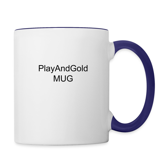 Play and Gold Mug