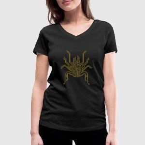 bionic spider T-Shirts - Women's V-Neck T-Shirt
