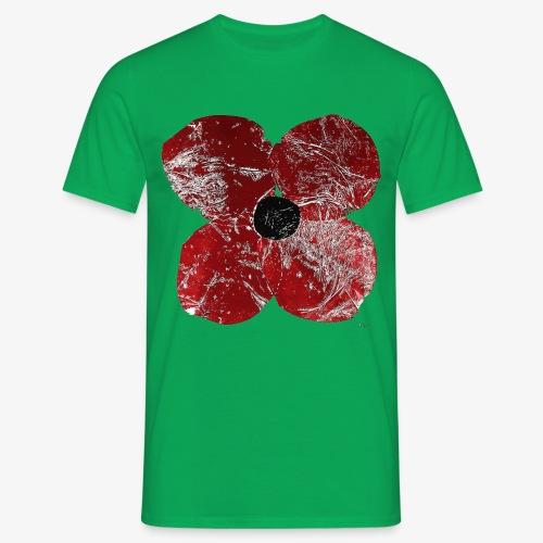 Klatschmohn 1 - Men's T-Shirt