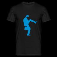 T-Shirts ~ Men's T-Shirt ~ John Cleese Silly Walk Black Men's Shirt