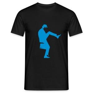 John Cleese Silly Walk Black Men's Shirt - Men's T-Shirt
