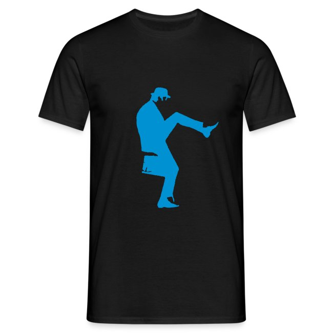 John Cleese Silly Walk Black Men's Shirt