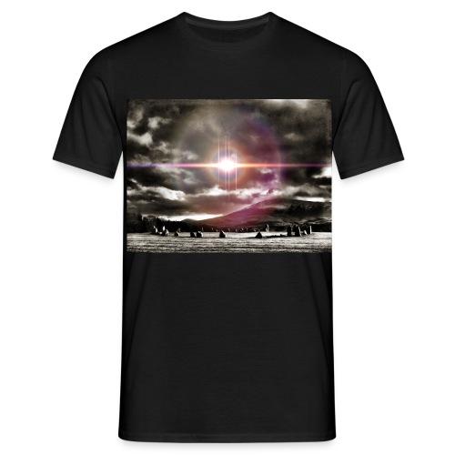 Lake District Castlerigg Stone Circle Myth & Fantasy T-Shirt Mens - Men's T-Shirt