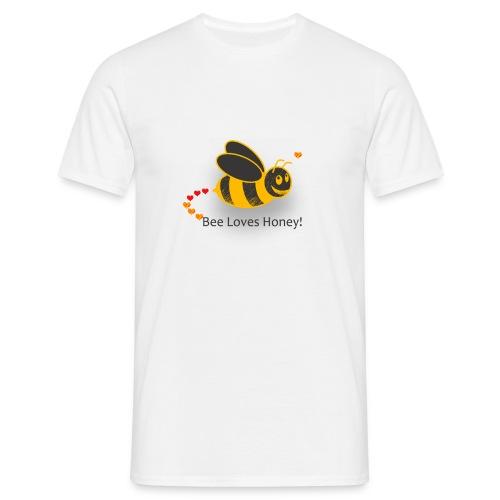Bee Loves Honey - Men's T-Shirt