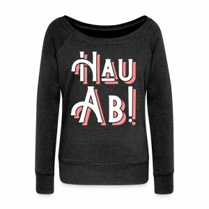 Hau Ab! Women's Boat Neck Top - Women's Boat Neck Long Sleeve Top