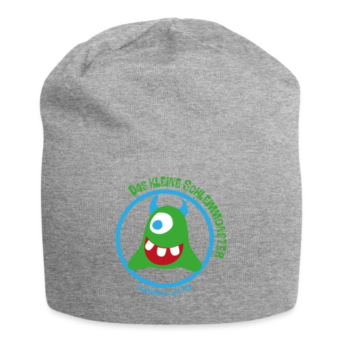 Mütze Schleimmonster helle Hörnchen - Jersey-Beanie