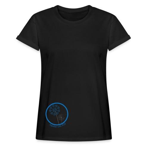 Oversize T-Shirt Damen Pusteblume - Frauen Oversize T-Shirt