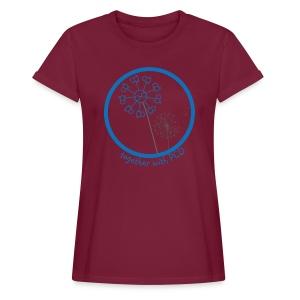 Oversize T-Shirt Damen Pusteblume groß - Frauen Oversize T-Shirt