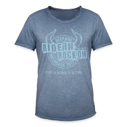 Bikerdays / Männer Vintage T-Shirt - Männer Vintage T-Shirt