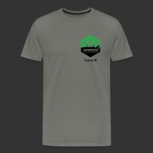 Herrenshirt Enlightened Hannover - Männer Premium T-Shirt