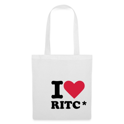 I LOVE RITC / The Shoppers Bag - Stoffbeutel