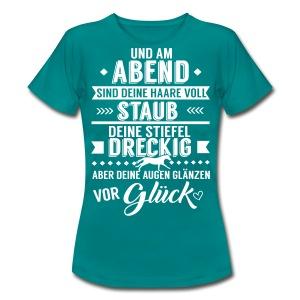 Frauen T-Shirt - witziges Pferde shirt,witzig,lustig,funny,fun,Spaß,Shirts mit lustigen Reiterspruch,Shirts für Western reiter,Shirts für Reiter,Reitersprüche,Reiterinnen,Reiterin,Reiter Shirts,Reiter,Reiten,Pferdesprüche,Pferdefreund,Pferdefans,Pferde shirt,Pferde,Pferd,Lustige Shirts mit Pferde sprüchen,Geschenke für Reiter