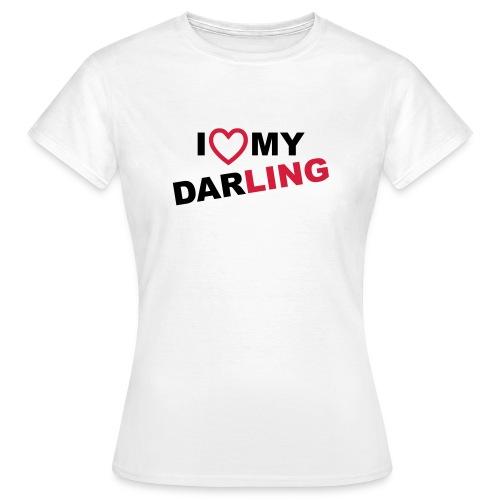 DARLING LADY - Frauen T-Shirt