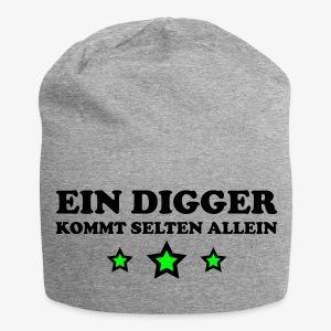 Ein Digger kommt selten allein Kult Mütze Beanie - Jersey-Beanie