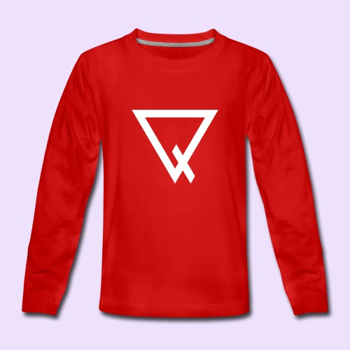 LiL Chamaz Sweatshirt (Red) - Teenager Premium Langarmshirt